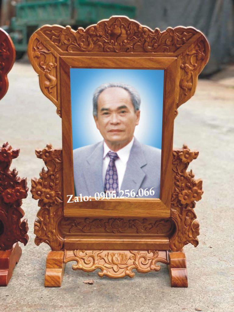 Khung hình ảnh thờ gỗ hương