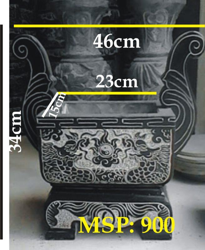 Lư hương đá nhỏ ngày nay được sử dung rất nhiều dùng để đặt lên phần mộ.